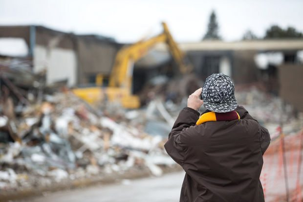 Studio 28 demolition
