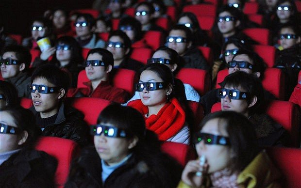 China 3D audience