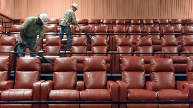 Luxury cinema seats