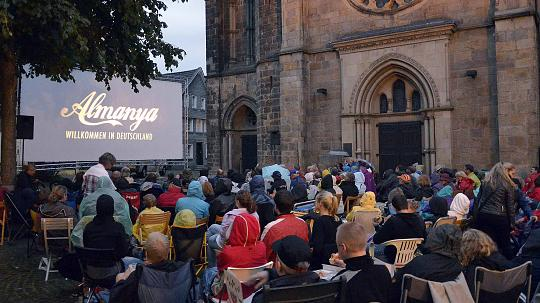 Mettman outdoor cinema