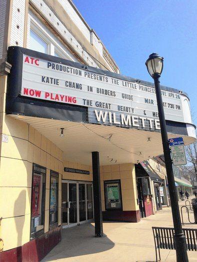 Wilmette Theatre front