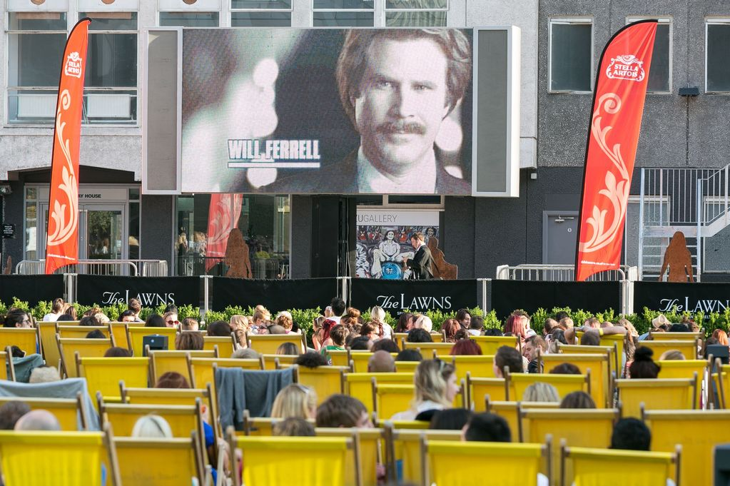 Manchester outdoor cinema