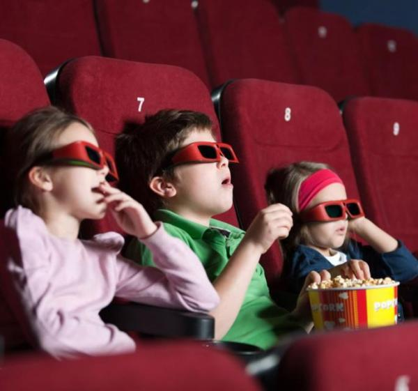 Children cinema 3D