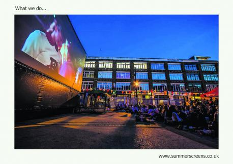 Cult cinema summer screen