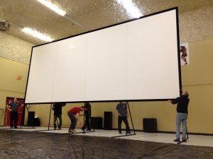 Pop up cinema Canada