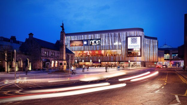 Inverness shopping centre