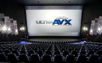 Cineplex UltraAVX