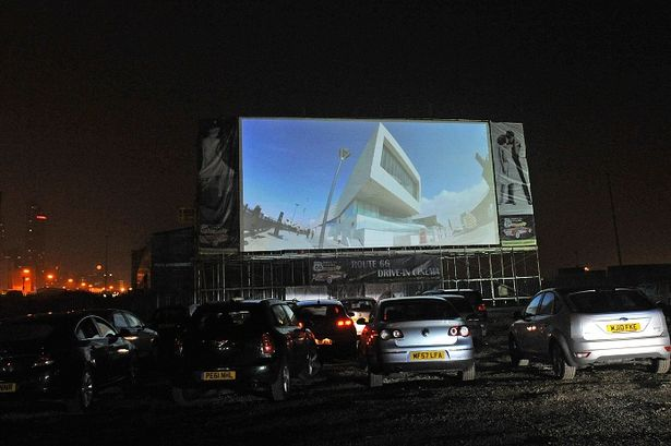 Drive-in cinema Liverpool