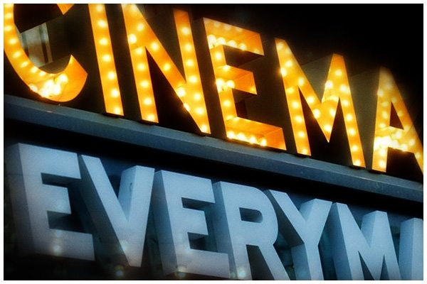 Everyman Cinema marquee