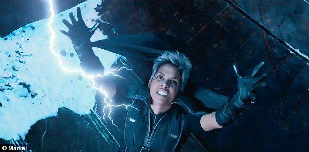 X-Men storm lightning