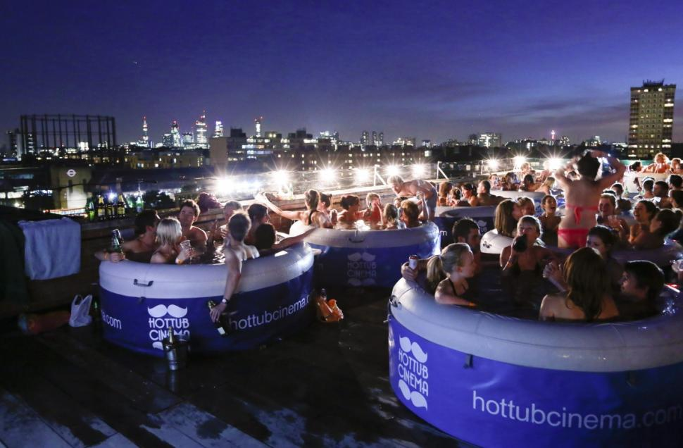 Hot Tub Cinema Brooklyn