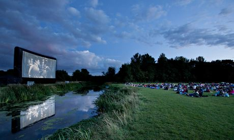 Cambridge Film Festival outdoors