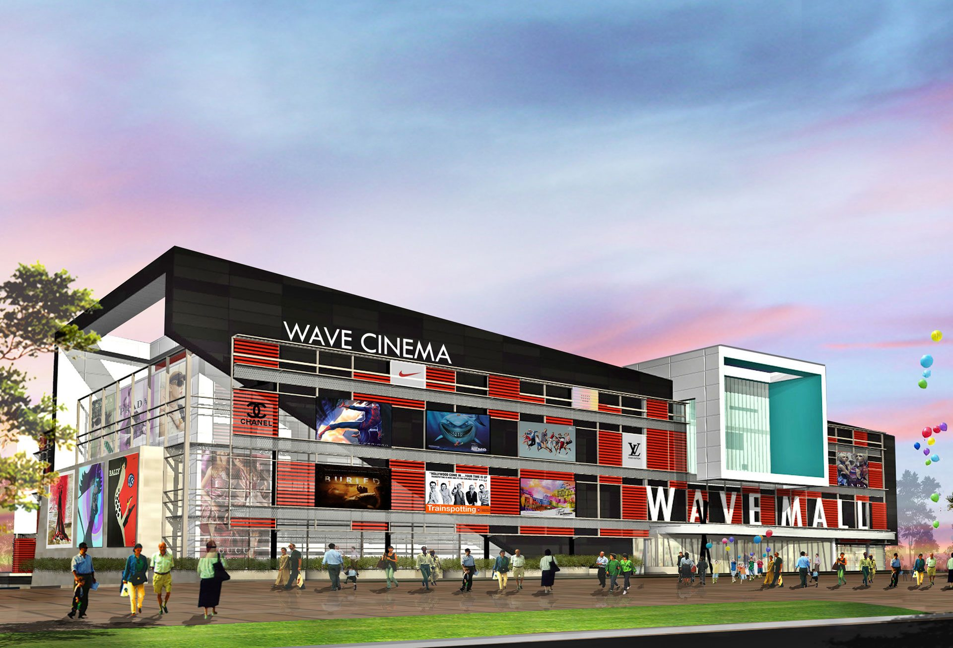 Wave Mall multiplex