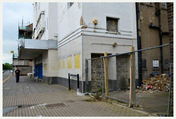 Odeon demolition Gloucestershire