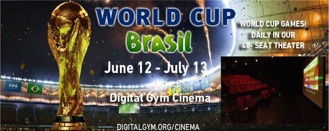 World Cup Digital Gym Cinema