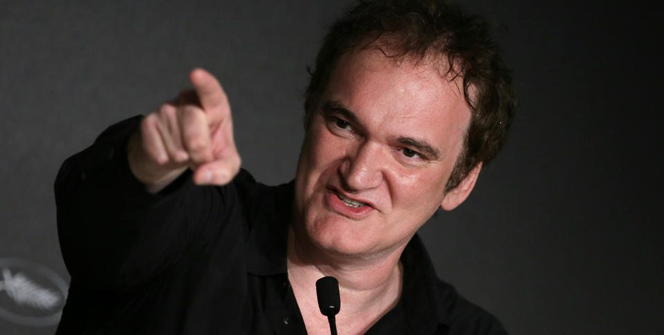 Quentin Tarantino In Cannes