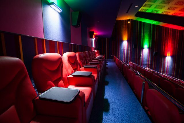 Cinema City Jerusalem VIP section