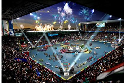 Glasgow Games opening ceremony