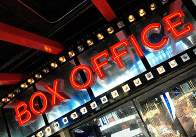 Box office sign neaon