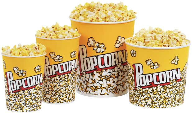 Cinema Popcorn Buckets