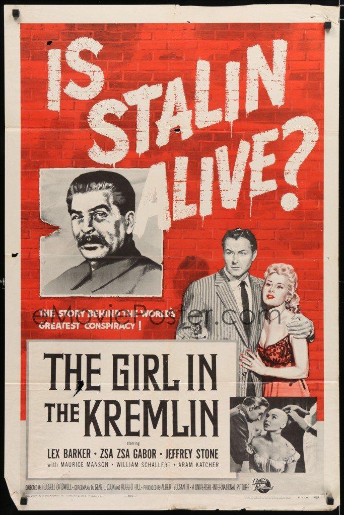 Girl in Kremlin Stalin