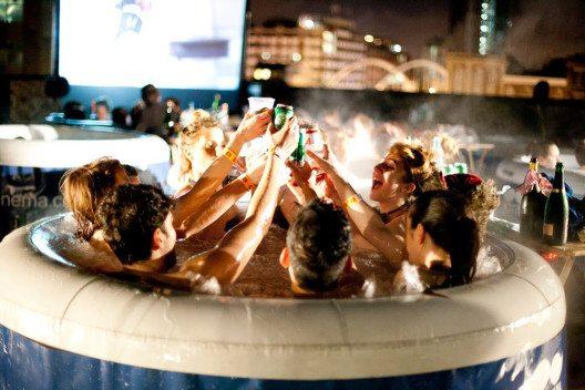 Hot tub cinema shoreditch