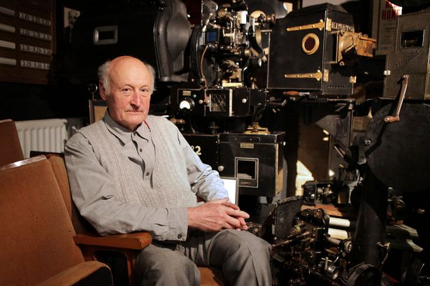 Malcolm Plant uber-projectionist