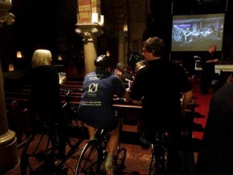 Cycle powered cinema