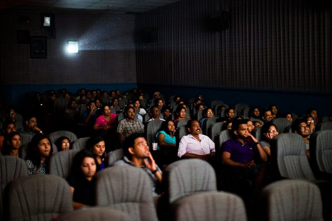New York Indian cinema audience