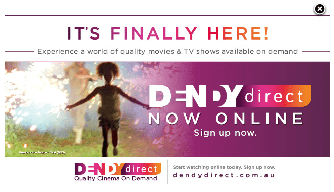 Dendy cinemas Direct