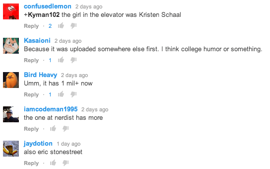 Weird Al tacky YouTube comments