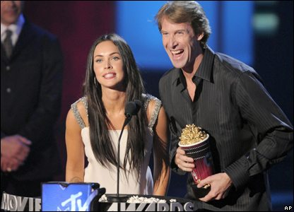 Michael Bay MTV golden popcorn