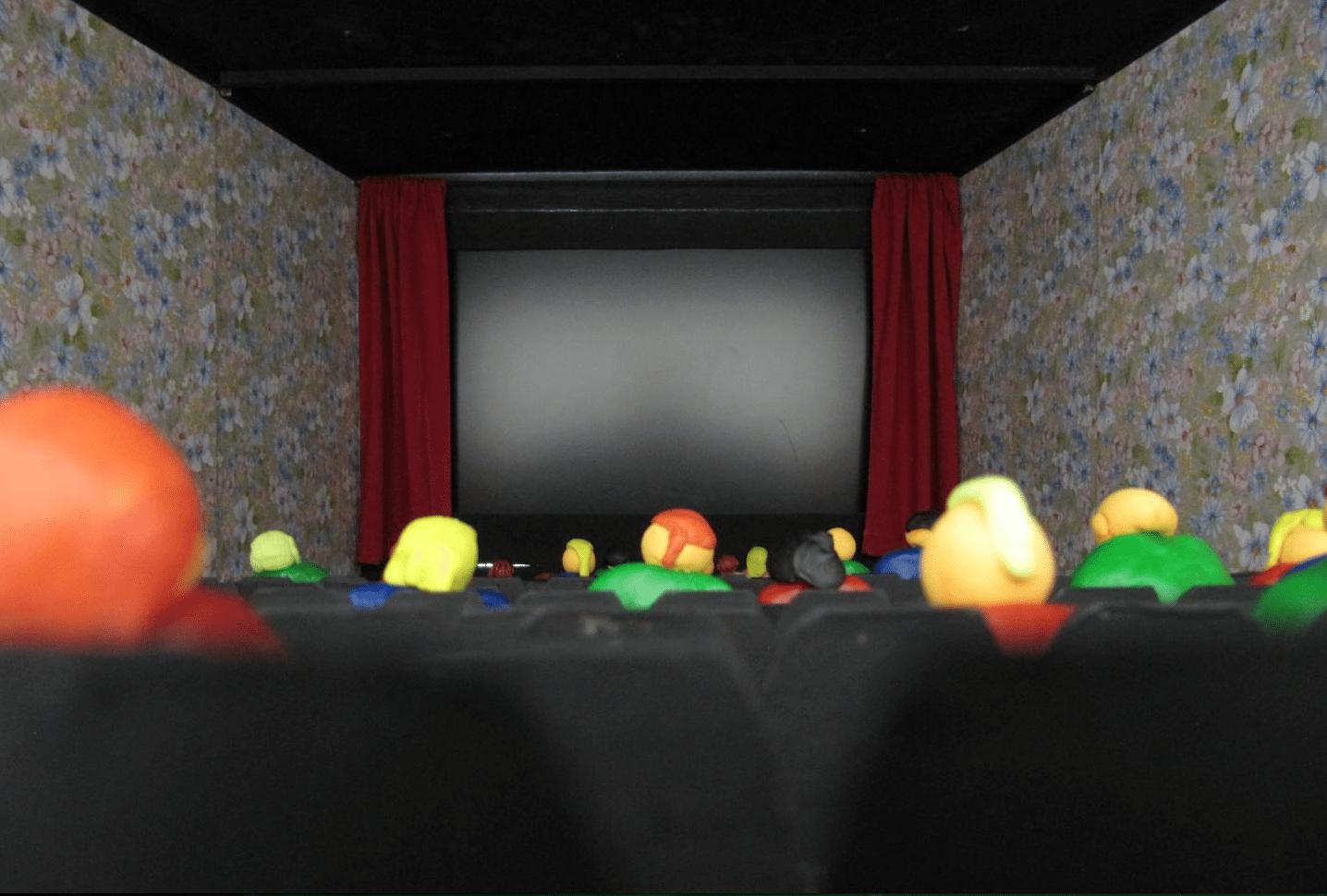 Simulated cinema