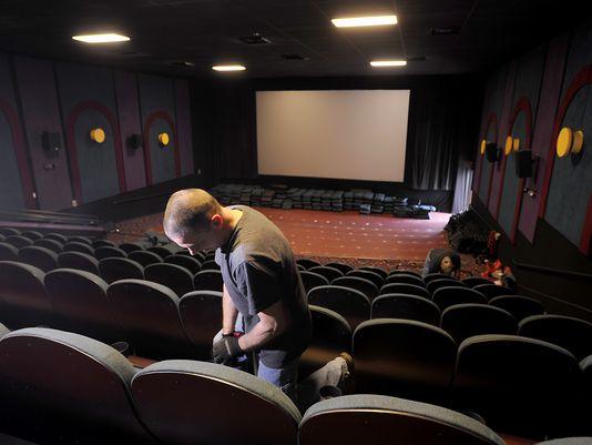 Celebration Cinema seats