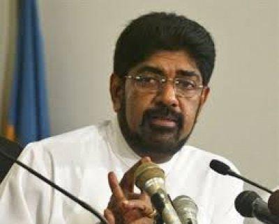 Sri Lanka minister