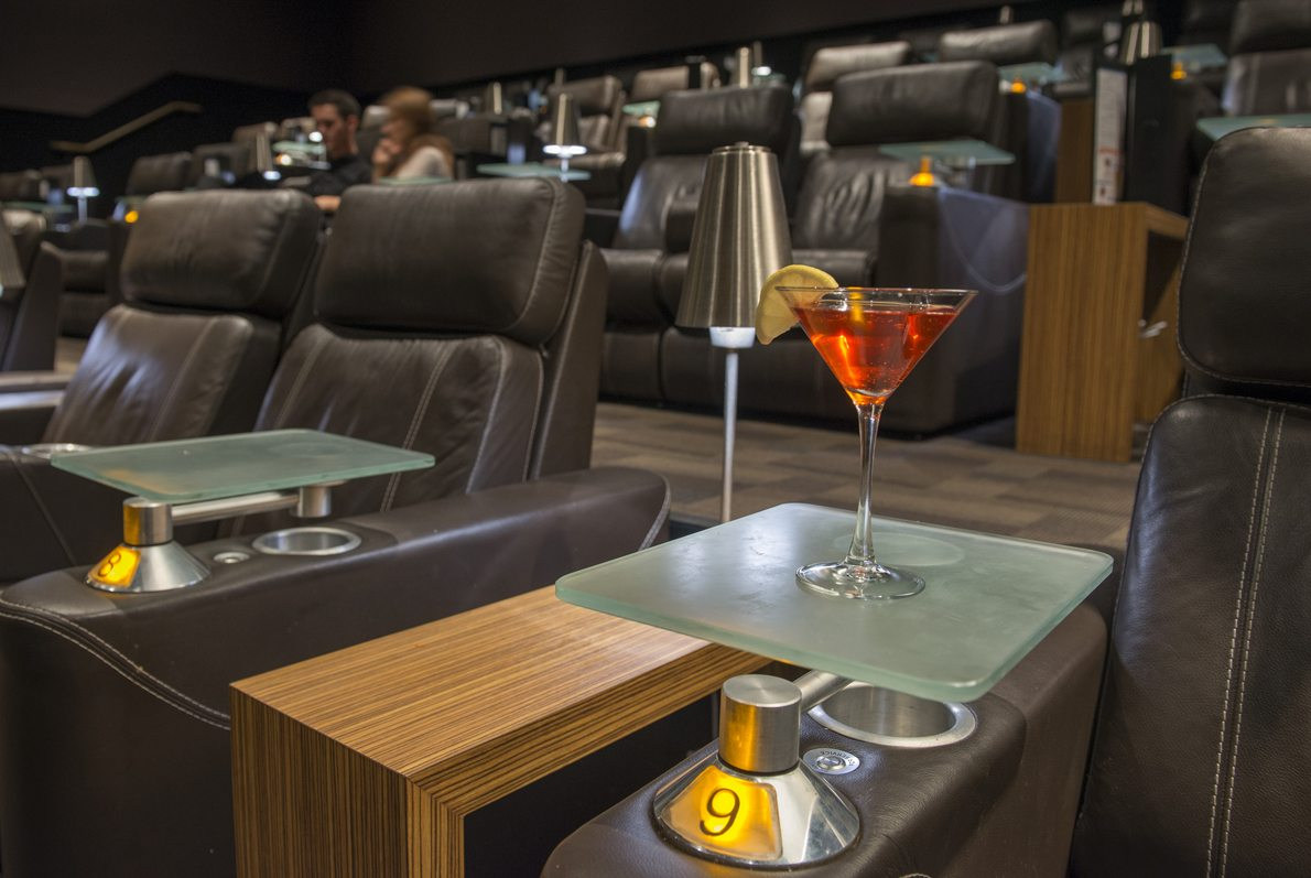 Cinepolis sushi martini