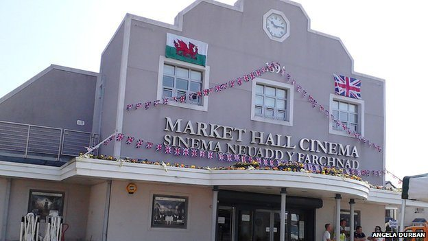 Market Hall Cinema in Brynmawr. (photo: Facebook)