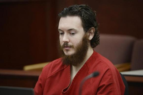 James Holmes Aurora Colorado shooter