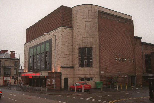 Wales luxury cinema