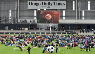Otago stadium cinema