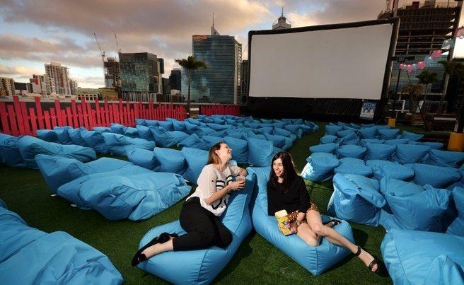 Rooftop movies Australia