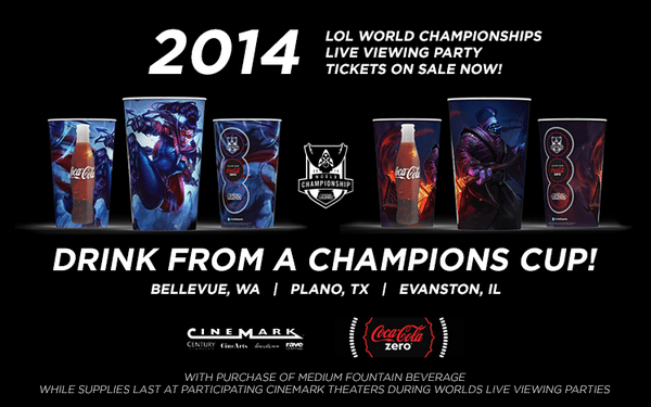 League of Legends Cinemark