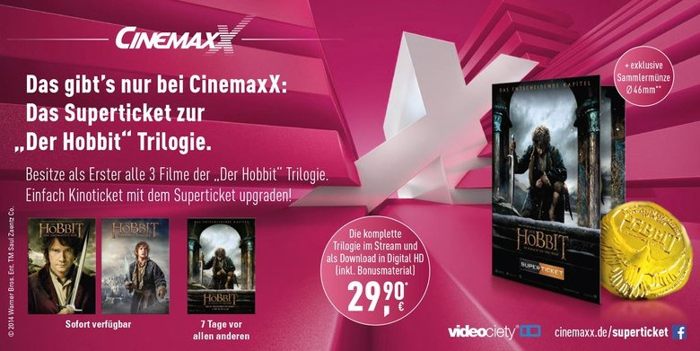 Hobbit Cinemaxx superticket