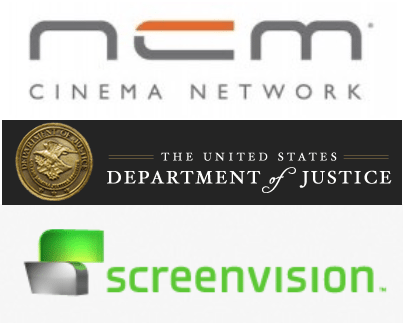 NCM DoJ Screenvision
