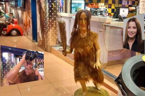 CinemaCity cave woman