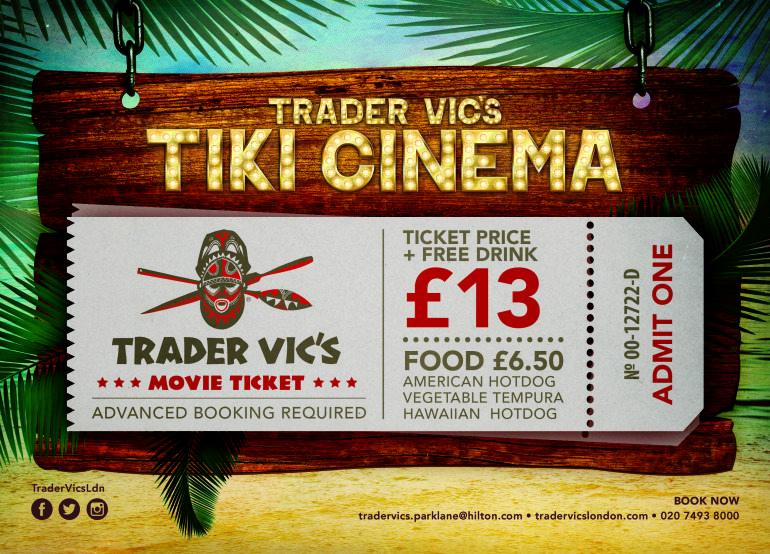 Trader Vic Tiki Cinema