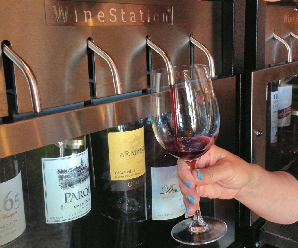 Wine Station wine dispenser