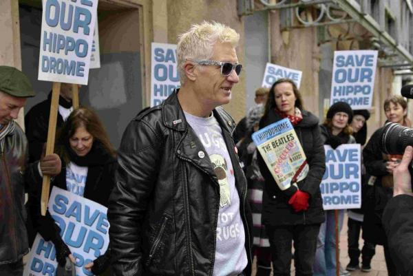 Hippodrome and Punk campaigners