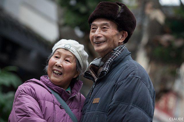 China old couple