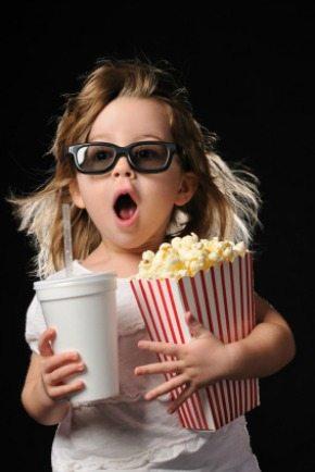 Baby toddler cinema